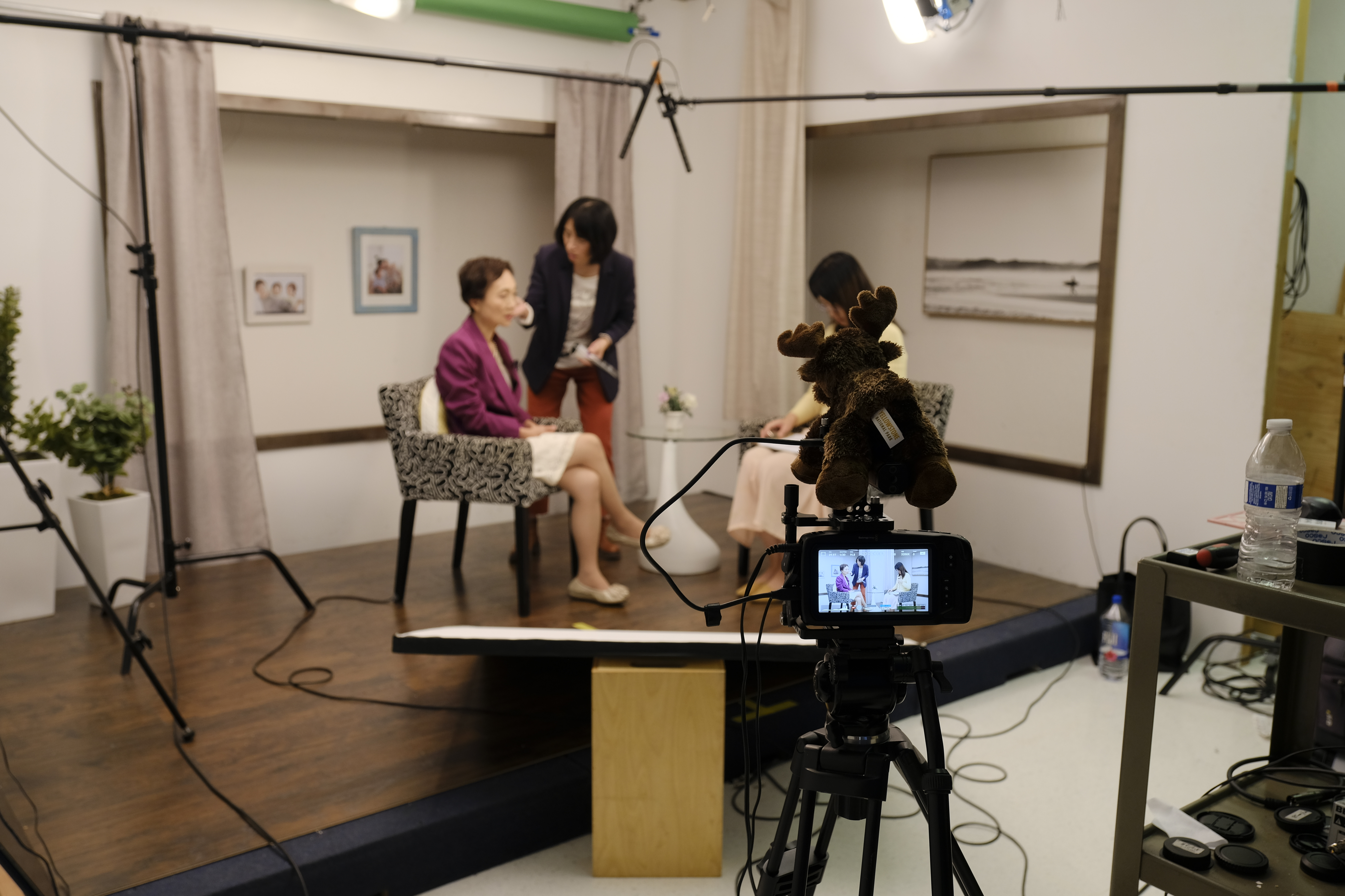 Newscast And Interview Studio