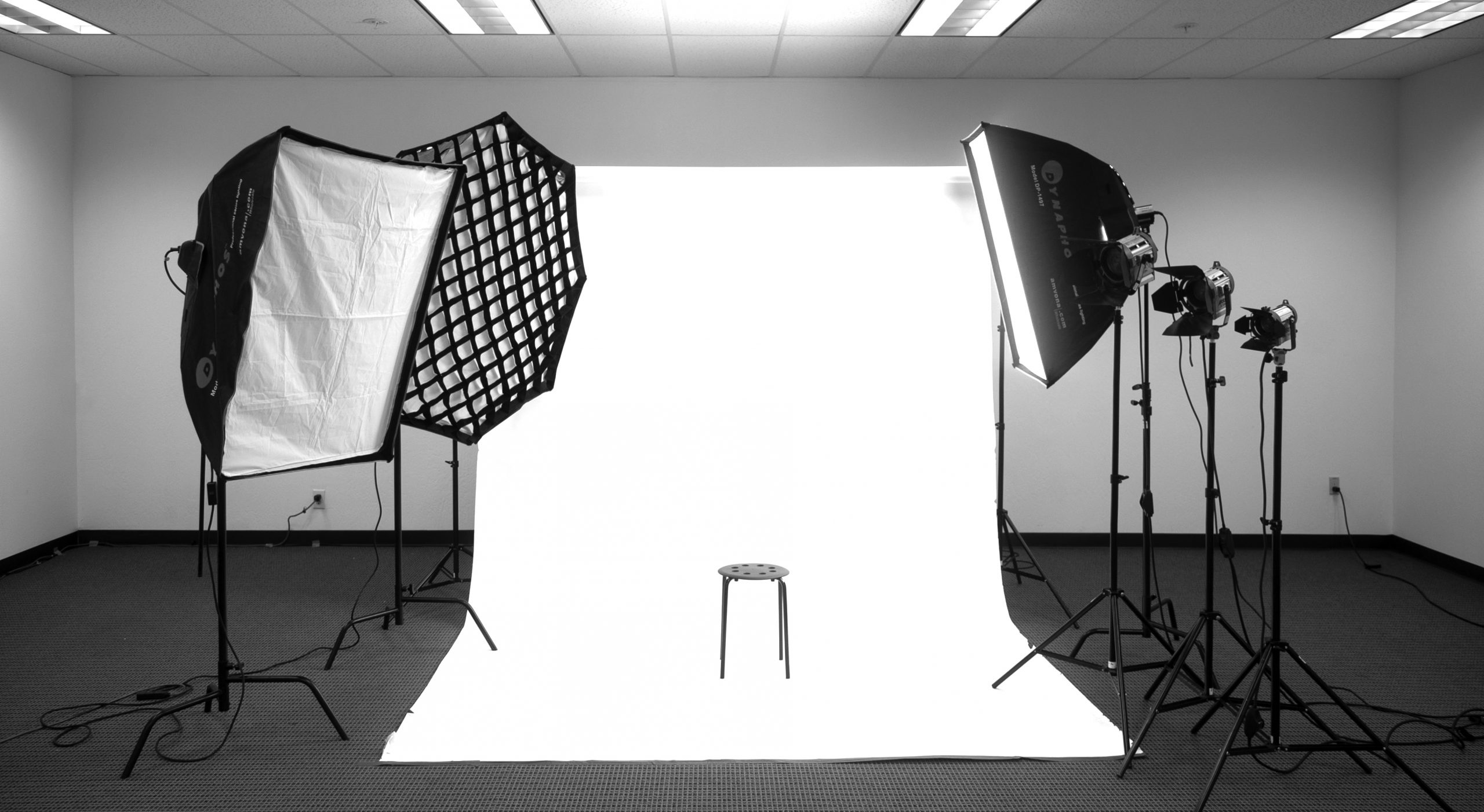 Professional Studio Recording Space